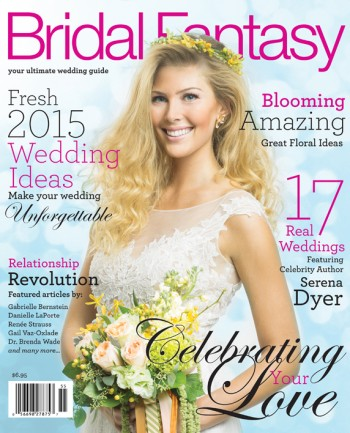 Bridal Fantasy Magazine Cover for Calgary