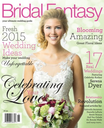 Bridal Fantasy Magazine Cover for Edmonton