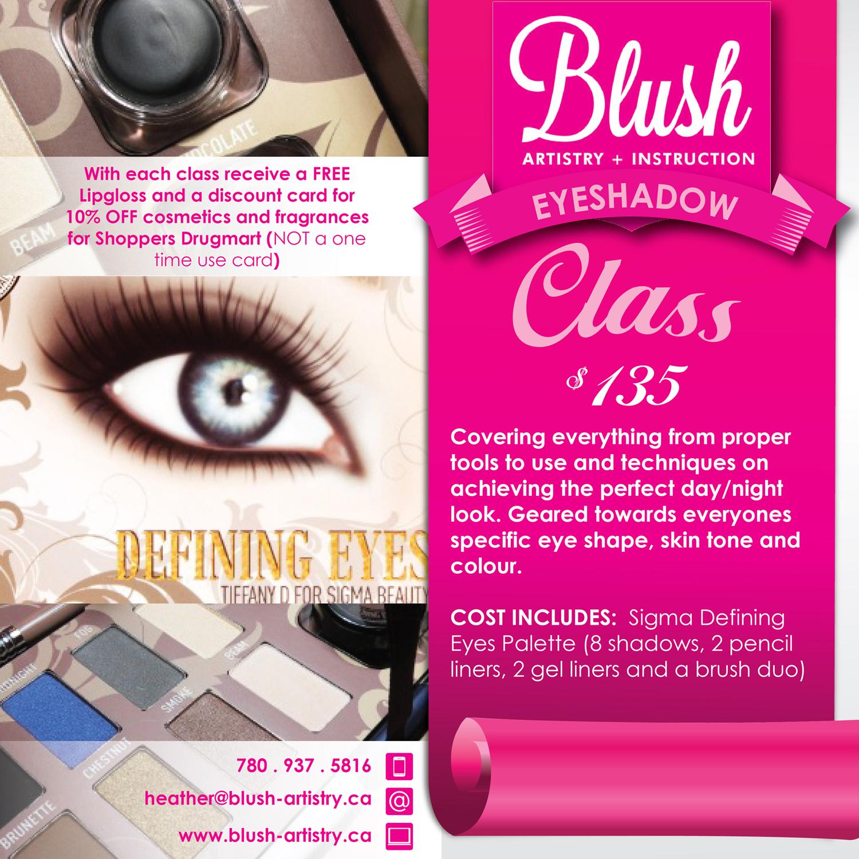 Eyeshadow Class Ad